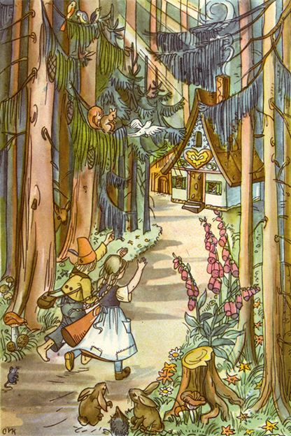hansel and gretel fairy tale characters