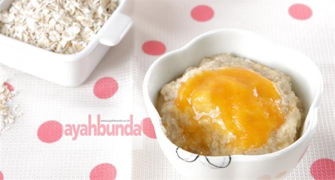 :: Sereal Aprikot :: Resep Makanan Bayi :: Resep :: Ayahbunda :: Baby meals :: recipe