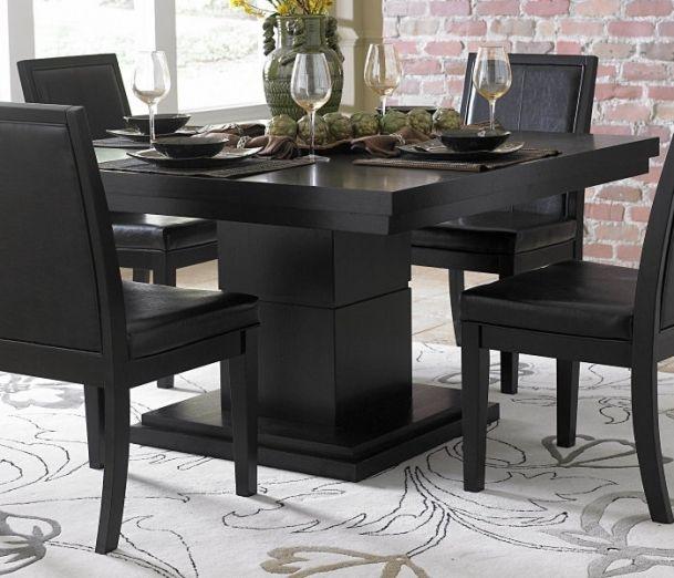 Kitchen Table 54 X Furnitures Black Dining
