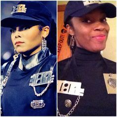 My Halloween costume this year! Janet Jackson from the 1989 Rhythm Nation video.
