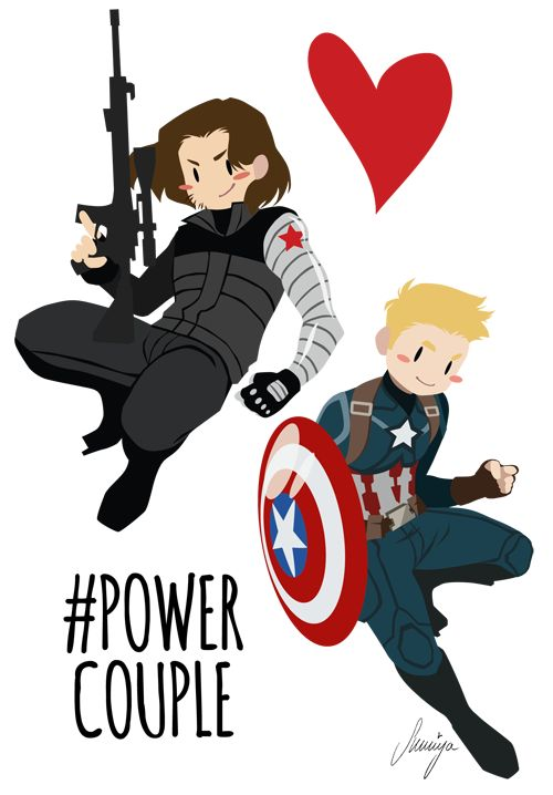 Lookimadeasomething i made stickers d the power couple hashtag sort of just