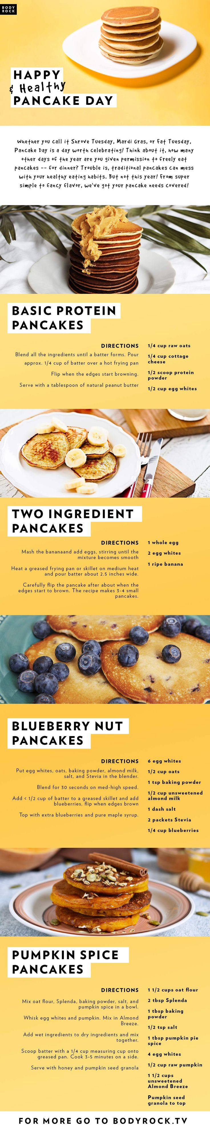 Go on, you deserve it! Have yourself a happier, healthier, guilt-free Pancake Day!