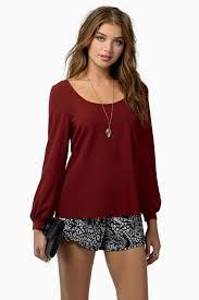 Resultado de imagen para blusa manga larga para señoras
