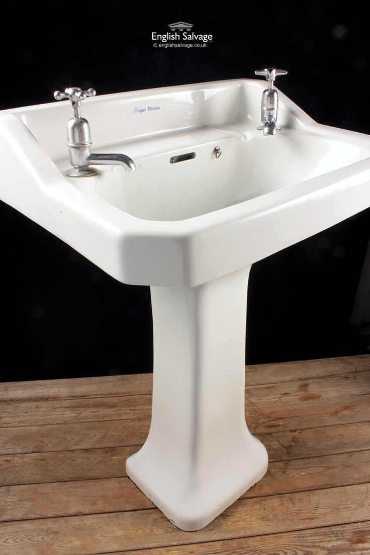 Shanks sink and stand reclaimed porcelain sinks and chrome stands - Adelphi Wash Basin And Pedestal Bathroom Pinterest Basins And Pedestal