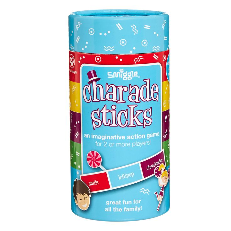 Image for Charades Sticks Game from Smiggle