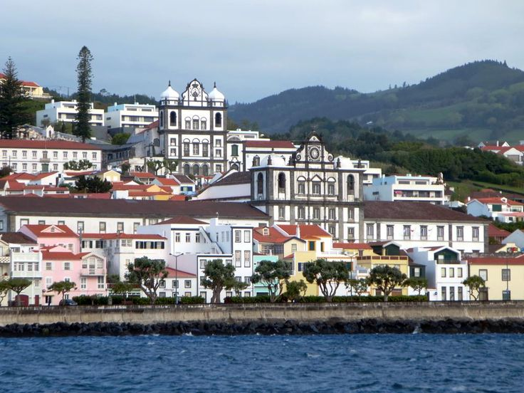 The Igreja do Carmo (above, left) and the Igreja Matriz de Sao Salvador (below, right) dominate the skyline of Horta on Faial Island in the Azores. The Horta Museum is in the 17th century Jesuit convent next to Sao Salvador.