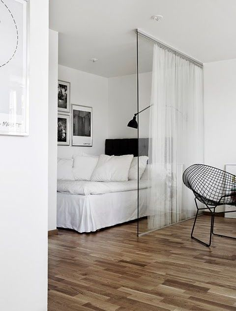Beautiful Tiny Living. Man ApartmentStudio ...