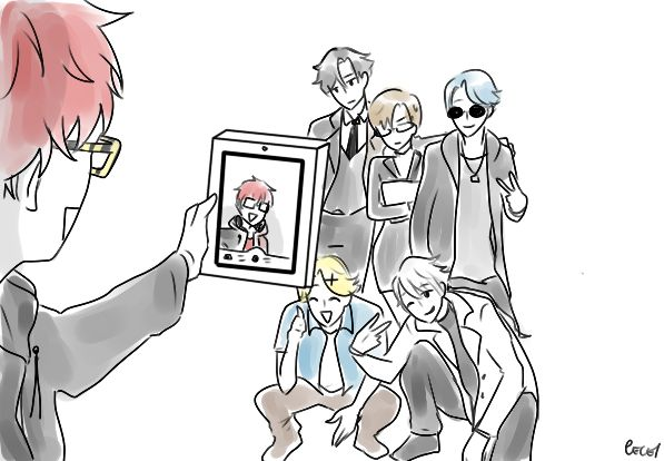 Mystic Messenger Trash : Photo