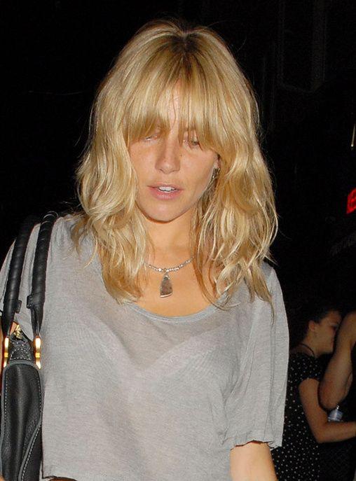 Sienna Miller avec frange