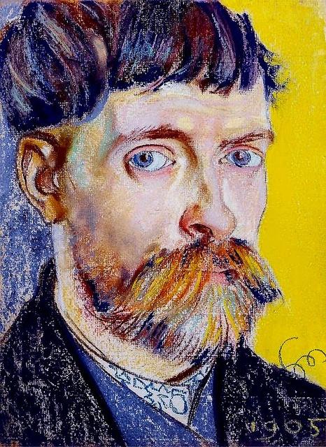 Stanislaw Wyspianski - Self-Portrait 1905