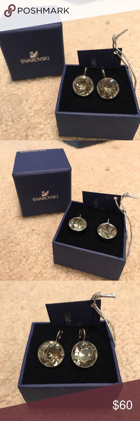 Swarovski Bella's Black Diamond Swarovski/ Bella's/ Color: Black Diamond Swarovski Jewelry Earrings