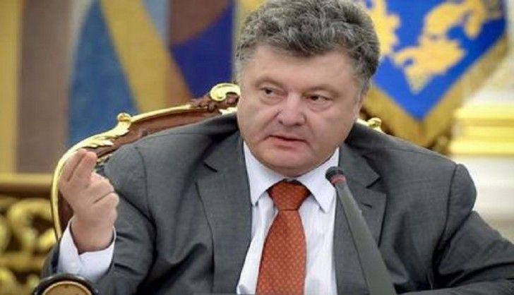Poroşenko özünü sülh prezidenti adlandırdı
