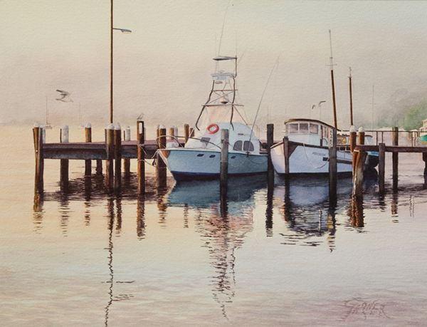 Brian Garner   WATERCOLOR