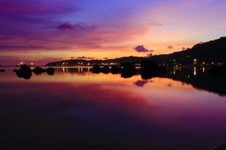 Sunset Teluk Bayur by Sγɑʍsµℓ Pµтʀɑ on 500px