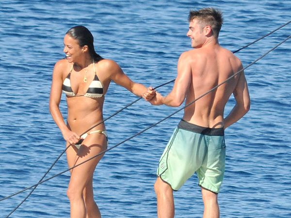 Zac Efron Spotted Kissing Michelle Rodriguez in Italy (Photos)| Couples, Michelle Rodriguez, Zac Efron