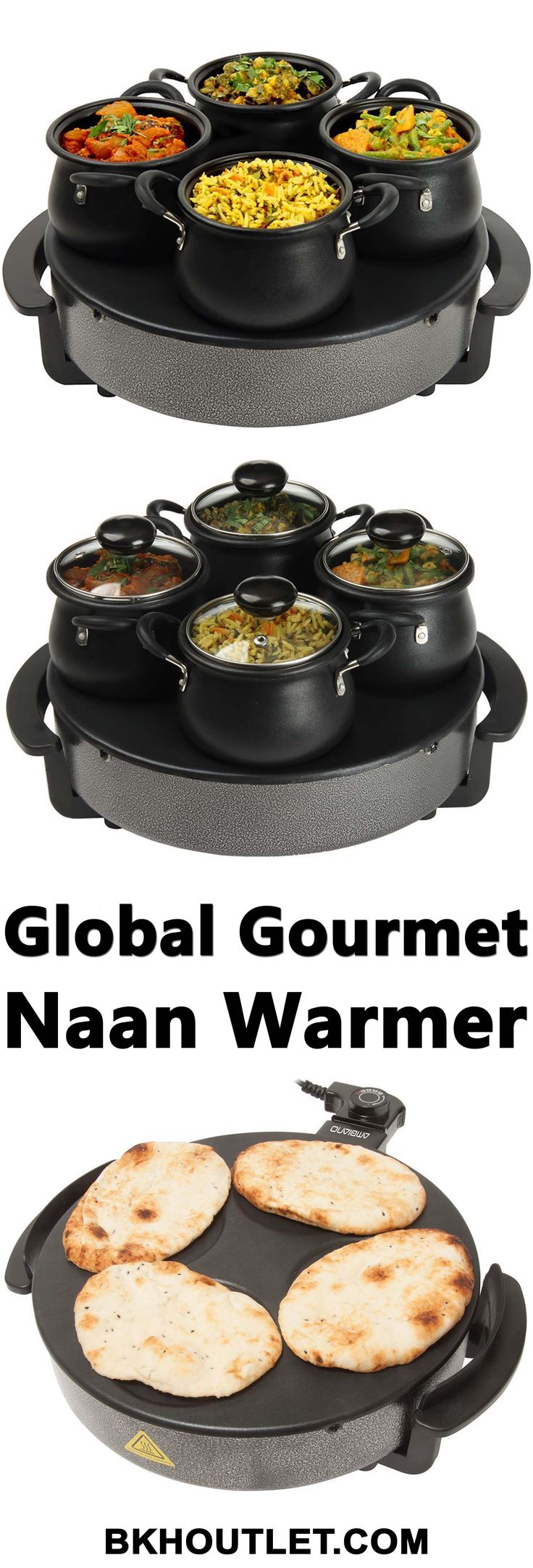 Now You Can Host Delicious Dinner Parties with the Unique Indian Curry Serving Station from Global Gourmet! │kitchen appliances │blender │coffee maker │hot plates │kettles │mixers │slow cookers │steamers │toasters │kitchen tools │pressure cooker │kitchen appliances │kitchen tools #kitchenappliances #blender #coffeemaker #hotplates #kettles #mixers #slowcookers #steamers #toasters #kitchentools #pressurecooker #kitchenappliances #kitchentools
