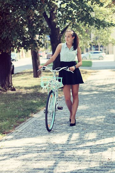 BICYCLE (by Lucy E) http://lookbook.nu/look/3832279-BICYCLE
