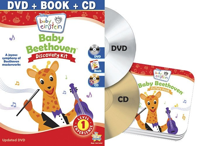 Disney Baby Einstein- Baby Beethoven Discovery Kit DVD