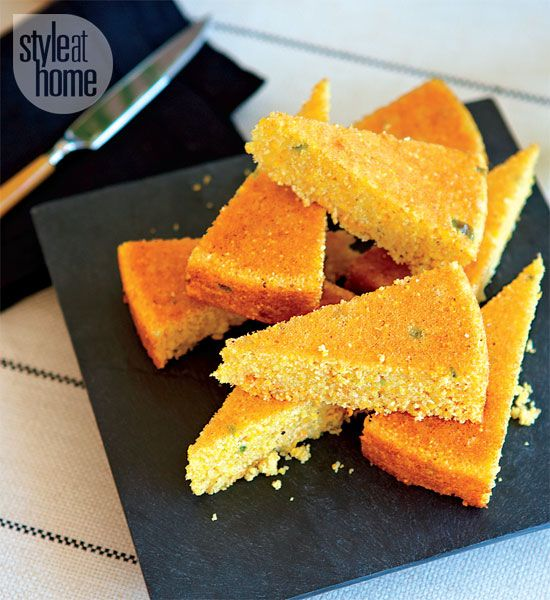 Skillet Jalapeno Cornbread | Recipes - Breads | Pinterest