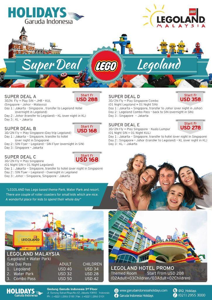 Get Super Deal to #LEGOLANDMalaysia with Garuda Indonesia Holidays