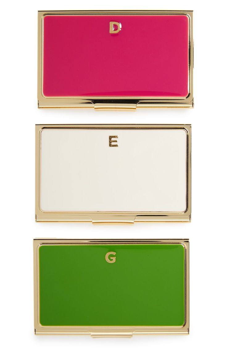 These Classy Kate Spade Business Card Holders Are Professional Yet Still So  Chic