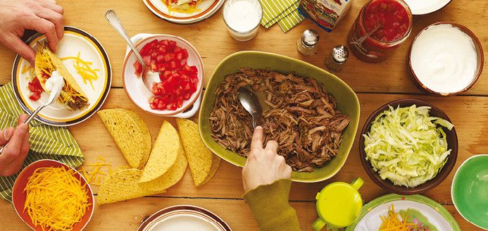 Tacos de porc à la salsa verde