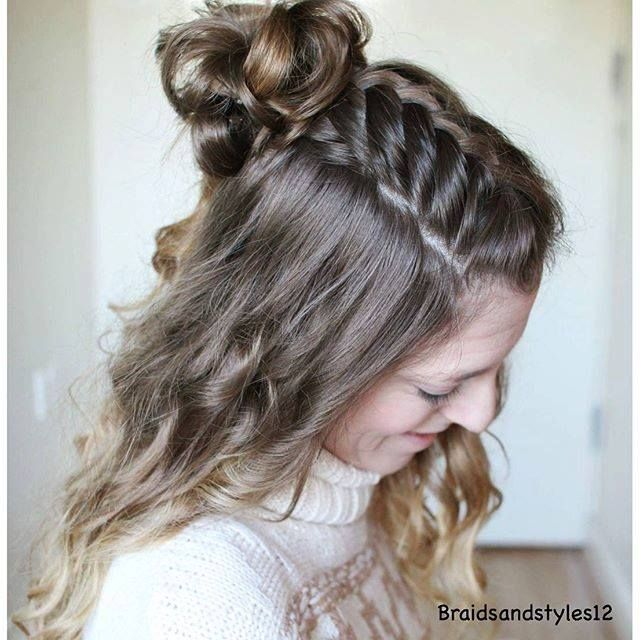 easy hair styles 30 best hair images on hair color hair 3050