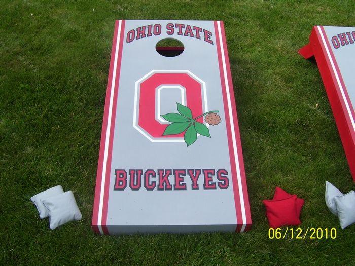 Ohio State Cornhole!