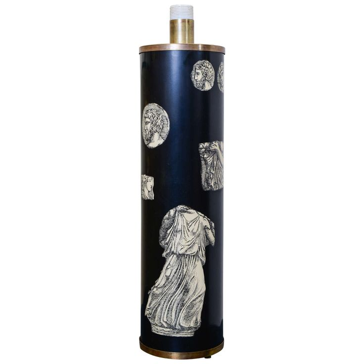 Tall Lamp by Piero Fornasetti | 1stdibs.com