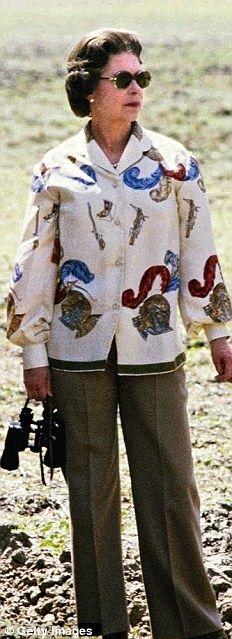 Elizabeth in pants 1979 Safari