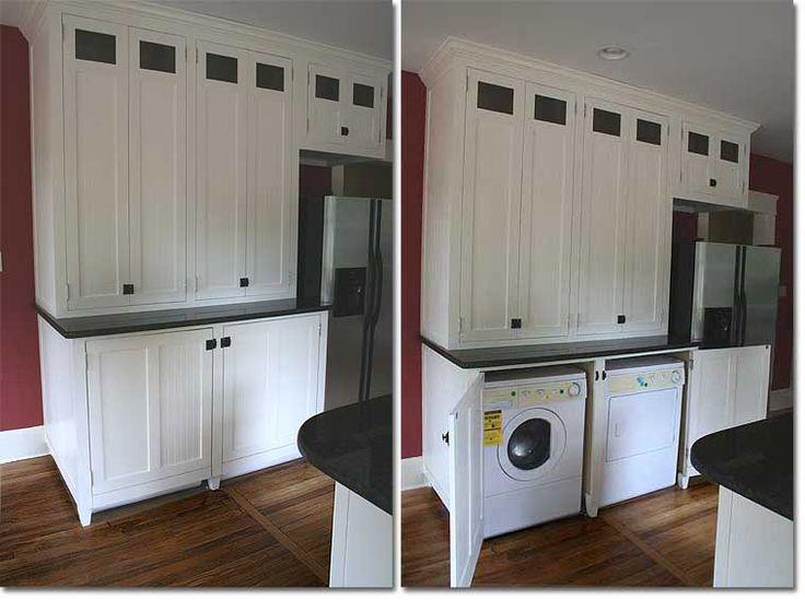 washer dryer in kitchen - Google Search