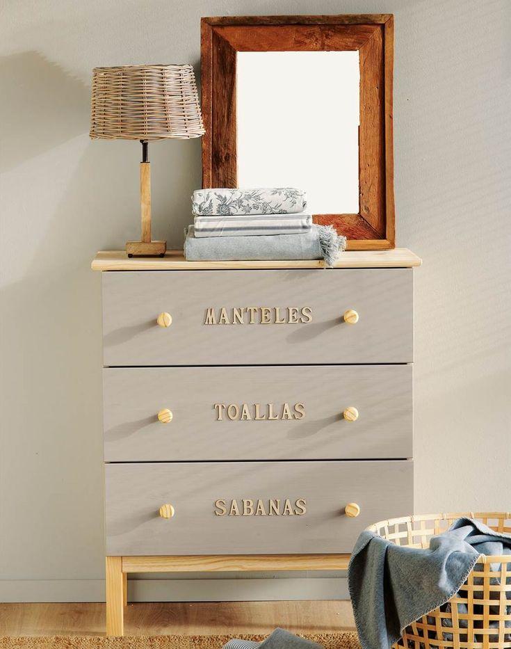 1000 ideas sobre decoraci n de c moda de dormitorio en - Comodas dormitorio ikea ...
