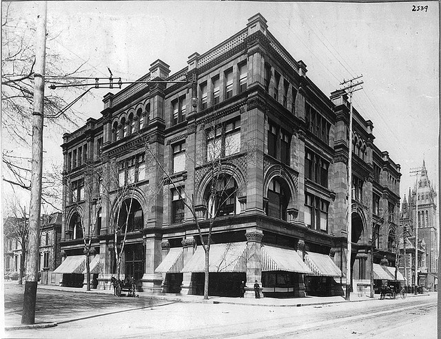 Henry Morgan's Store, Ste. Catherine Street, Montreal, QC, about 1890 which became the Bay