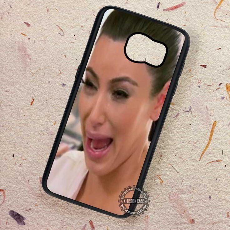Kim Kadarshian Crying Pretty Sexy - Samsung Galaxy S7 S6 S5 Note 7 Cases & Covers