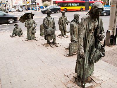 """Transition"" sculpture installation by Jerzi Kalina -- Wrocław, Poland, From photography by Preston reed."