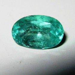 Zamrud Kolombia Hijau Medium 0.85 carat
