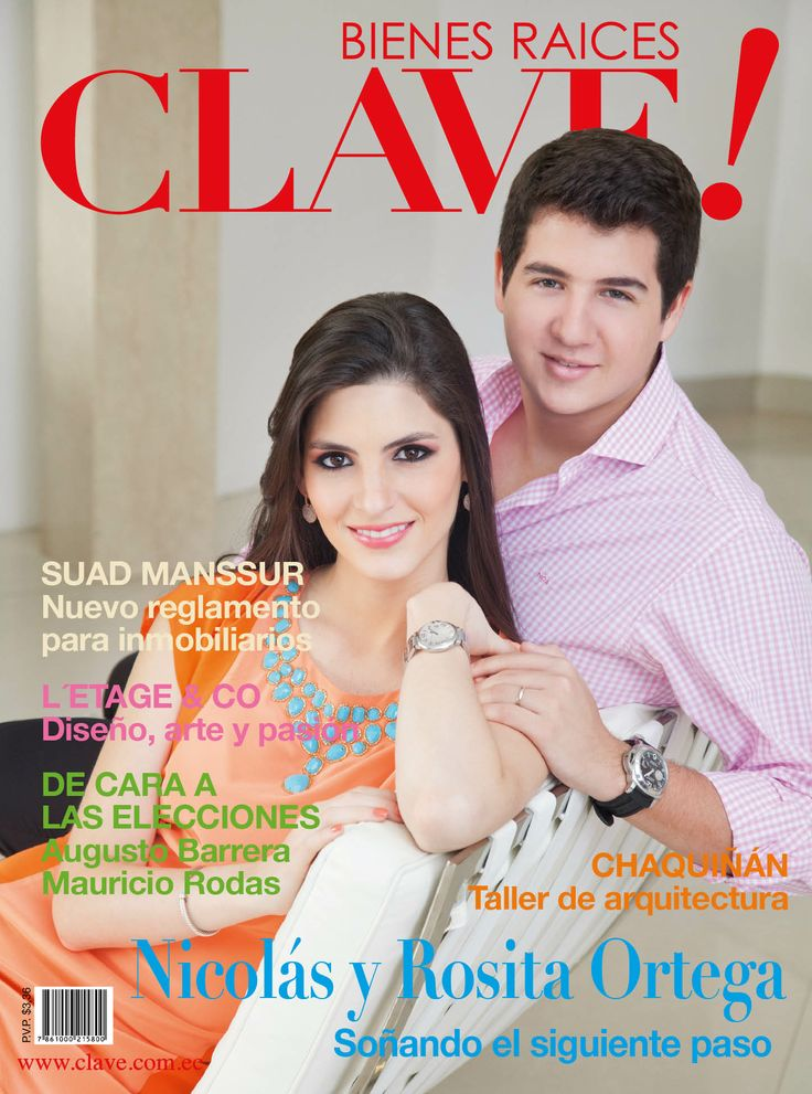 Primera edición de 2014 ya en circulación. En portada Nicolás Ortega y Rosa Victoria Durán de Ortega.  Foto: Chris Falcony