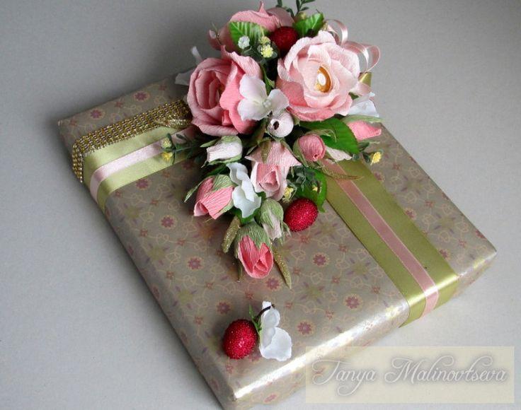 (4) Gallery.ru / Фото #71 - Оформление конфетных коробок. Тортики из конфет. - boogi-woogi
