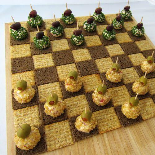 Cheeseball Checkers