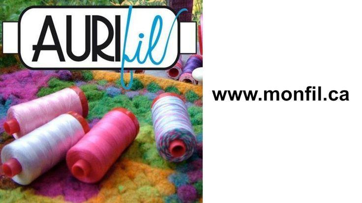 Monfil.ca - Aurifil, the Italian threads