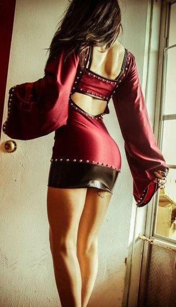 Toxic Vision dress