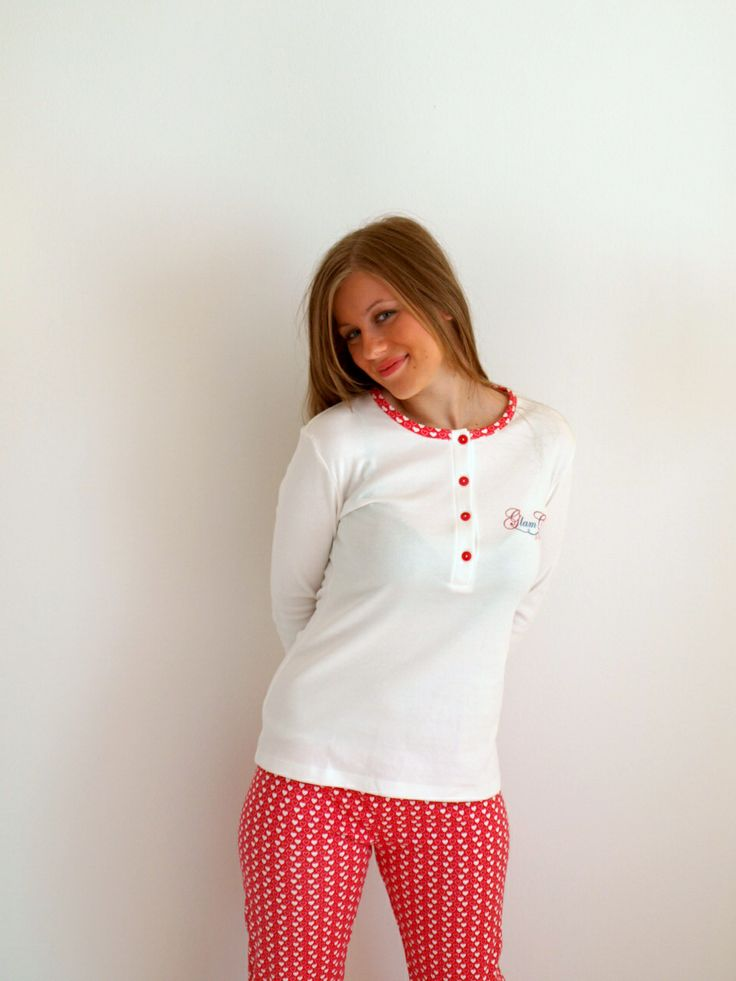 Red & white the perfect combination http://lutecia.gr/Sleepwear?product_id=508