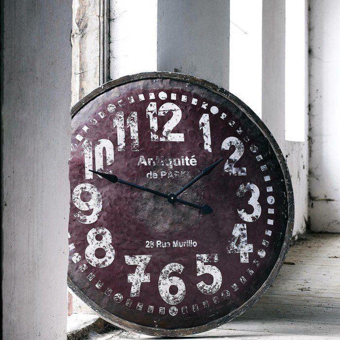 Les 25 meilleures id es de la cat gorie horloge murale - Horloge murale geante vintage ...