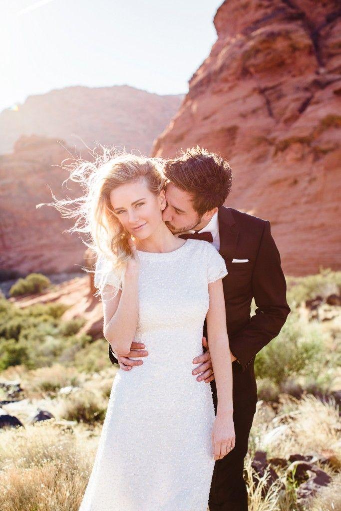 Jessica Janae Utah Wedding Photography red rock bridal shoot