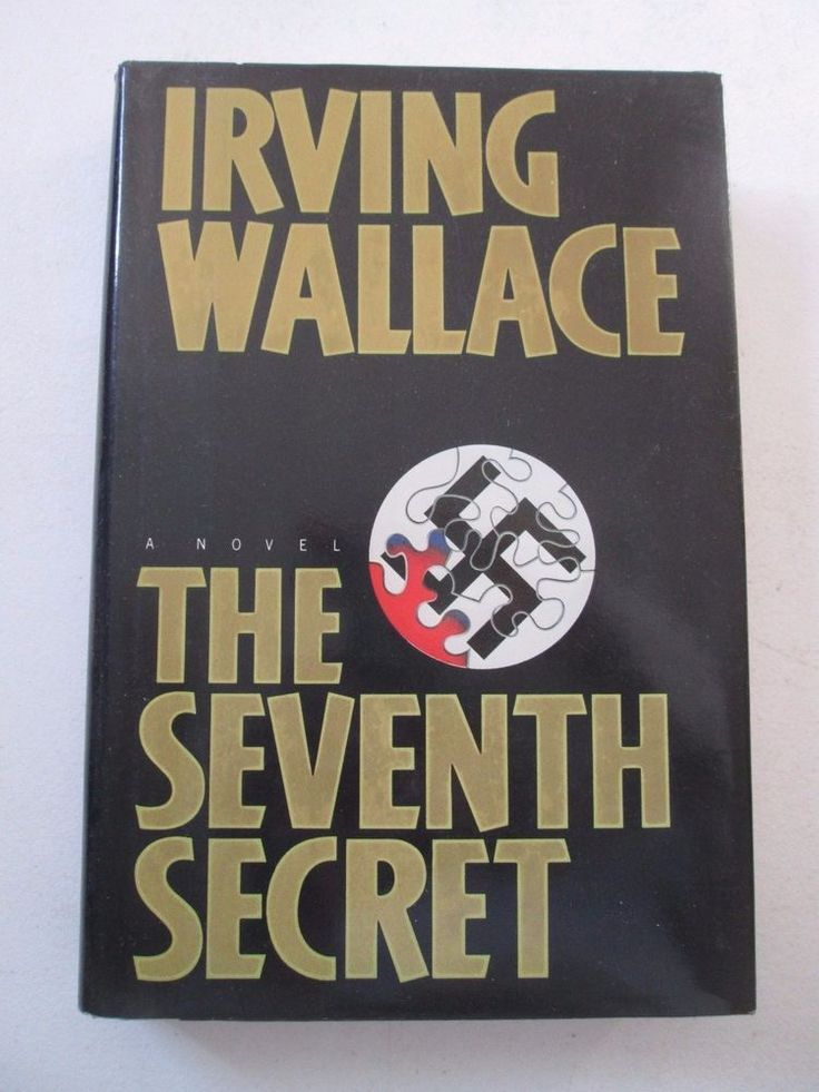 IRVING WALLACE THE SEVENTH SECRET FIRST EDITION 1ST PRINTING HARDCOVER Novel HC