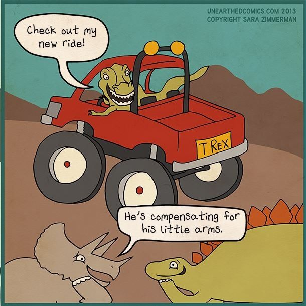 T Rex jokes!