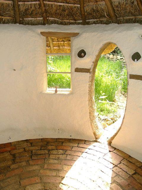 Cob doorway