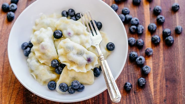 Blueberry pierogi are the ultimate comfort food. Our family has been making pier…