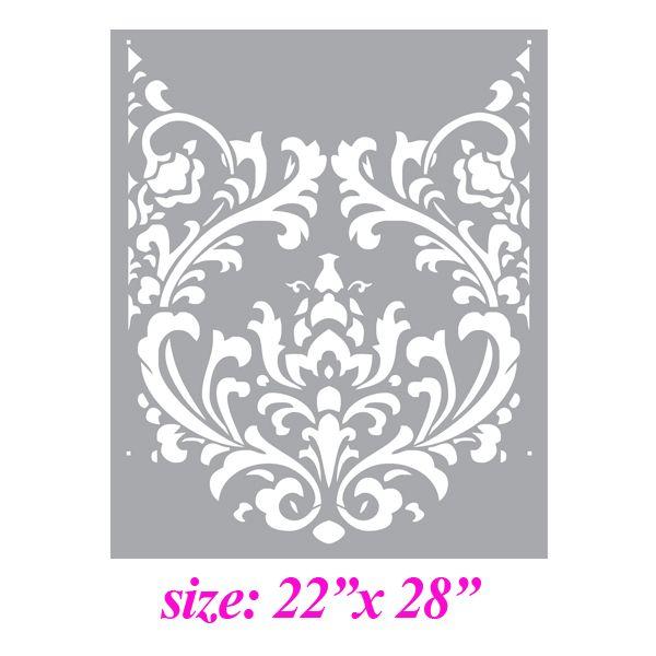 Wall Design Stencils 284 best stencil patterns images on pinterest | stencil patterns