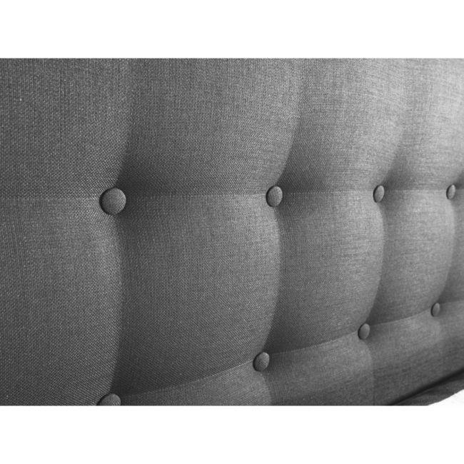 Morpheus Kontinentalsäng med Gavel 90 cm - Grafitgrå #sängar #sänggavel #beds #headboard